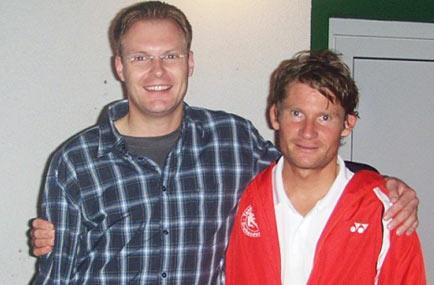 Herren: Clubmeister Rafael Niedung und 2. Uwe Fleischer