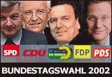 Sonderseiten zur Bundestagswahl 2002