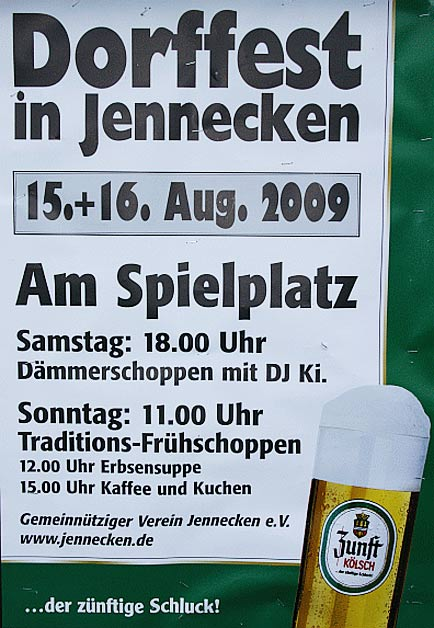 Dorffest in Jennecken