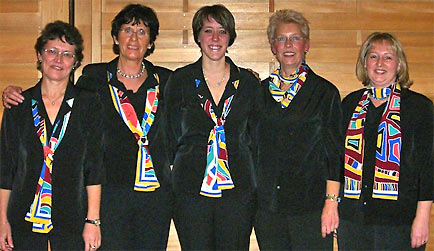 Vorstand Frauenchor Drabenderhöhe