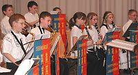 Nachwuchsschüler der Blaskapelle