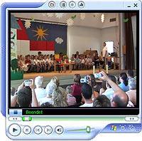 Video, 16 Minuten, 40 MB