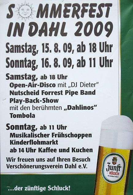 Sommerfestfest in Dahl