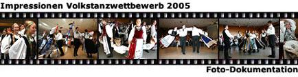 Impressionen Volkstanzwettbewerb 2005