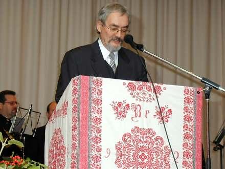 Herwig Bosch, Drabenderhöher Kreisgruppenvorsitzende der Landsmannschaft