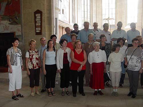 Honterus-Chor auf Reisen