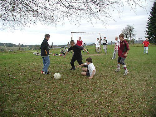 Fußballspiel Dahl – Brächen