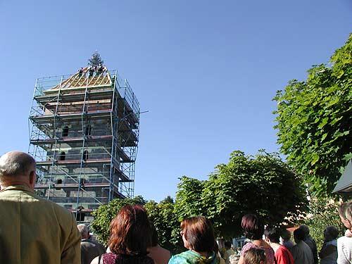 Richtfest Turm der Erinnerung