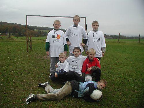 FC Dahl beim Training