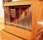 Die neue Orgel in der Kapelle im Altenheim Siebenbürgen
