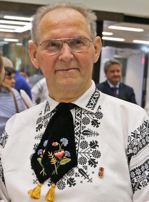 Harry Janesch bei der Patenschaftsfeier im Düsseldorfer Landtag im November 2017. Foto: Siegbert Bruss