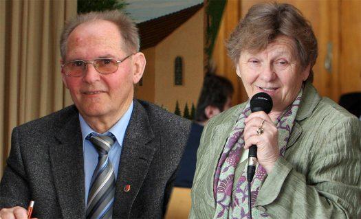 Harry Janesch und Ehefrau Enni. Foto: Christian Melzer