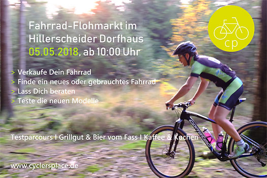 Fahrrad Flohmarkt Im Hillerscheider Dorfhaus Drabenderhohe