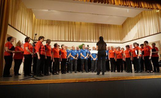 Der Honterus-Chor unter der Leitung von Regine Melzer. Foto: Klaus Hihn