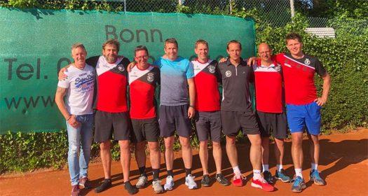 1. Herren 40: Thomas Drogies, Christoph Rickerl, Christian Franchy, Jens Niedtfeld, Arne Dohmgoergen, Christian Schuster, Marc Coroly