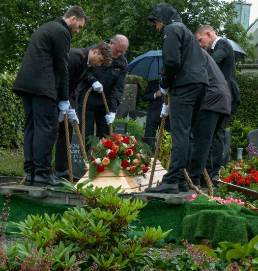 Beisetzung von Pfarrer i.R. Kurt Franchy